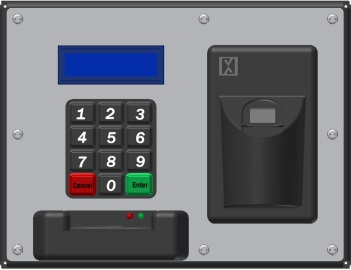 X10000 Biometric Card Reader